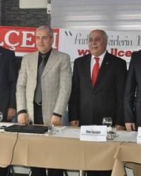 Kartal İlçe Başkanları İlçem'de Buluştu