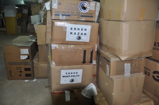 Kartal Belediyesi Van Deprem Yardım Malzemelerini