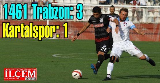 1461 Trabzon: 3, Kartalspor: 1