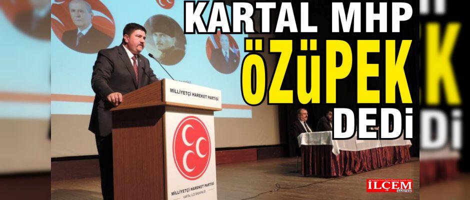 H. Metin Özüpek yeniden İlçe Başkanı. İşte yönetim kurulu isim listesi