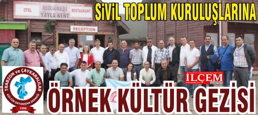 Trabzon Çaykaralılar Derneği'nden örnek kültür gezisi