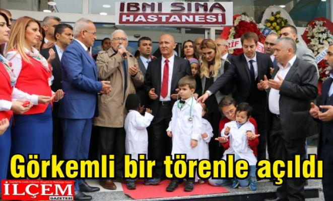 İbni Sina Hastanesi Kartal'da görkemli bir törenle açıldı