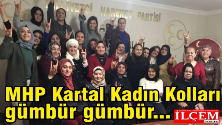 MHP Kartal Kadın Kolları gümbür gümbür...