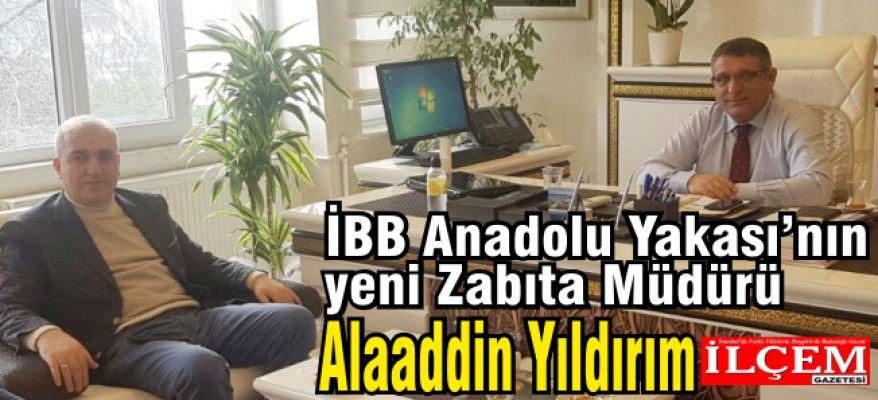 İBB Anadolu Yakası Zabıta Müdürü Alaaddin Yıldırım'a ziyaret