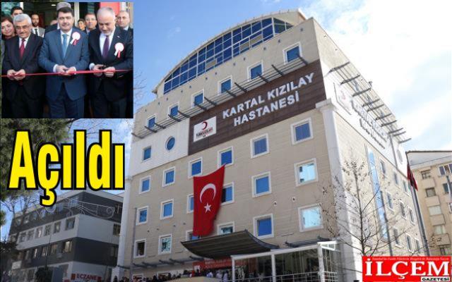 Kartal Kızılay Hastanesi törenle açıldı.