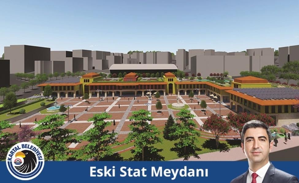 Kartal İlçe Stadı'nın yerine meydan ve park yapılacak.