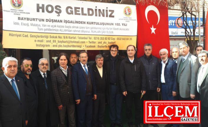 Anadolu Yakası Bayburt Kültür ve Yardımlaşma Derneği'nden anlamlı program.