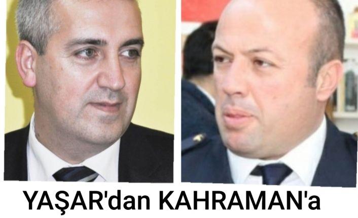 Aytekin Yaşar'dan Müslüm Kahramana hayırlı olsun ziyareti