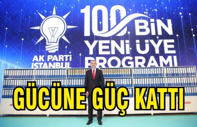 AK Parti'den 100 bin yeni üye ile gövde gösterisi