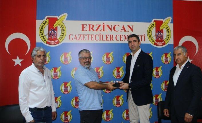Kartal Belediye Başkanı Gökhan Yüksel'den Erzincan Basınına Ziyaret
