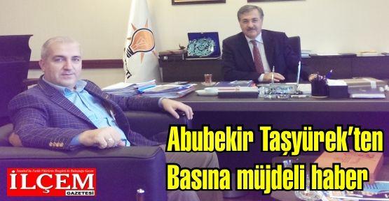 Abubekir Taşyürek, yerel basın için İstanbul Büyükşehir Belediyesi'nde bir heyet oluşturdu.