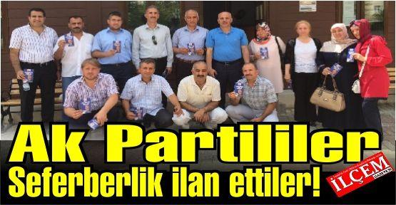 AK Parti Kartal Cumhurbaşkanlığı seçimi için seferberlik ilan etti.