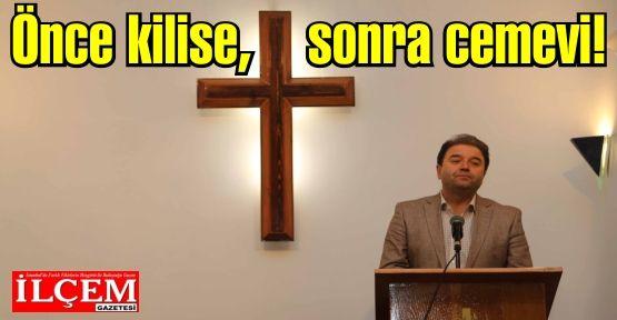 Ali Kılıç, 'Bir gün hep beraber camiye, bir gün cemevine, bir gün kiliseye gidebilmeliyiz!'