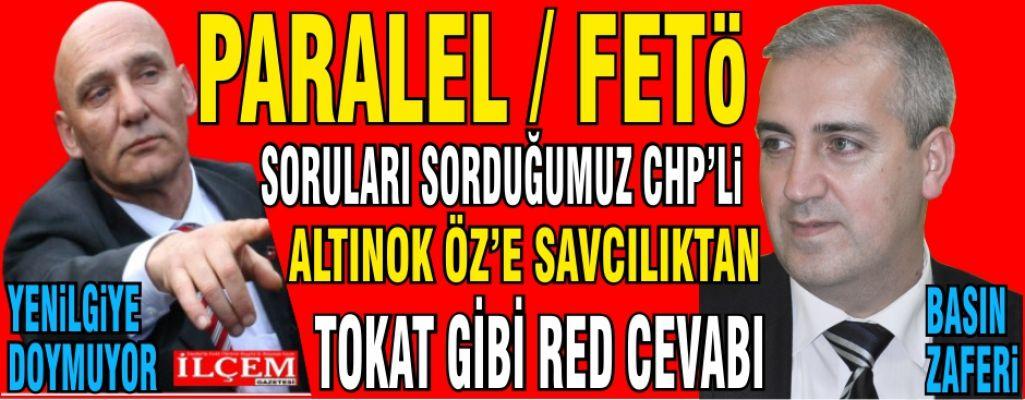 Altınok Öz'e yargıdan tokat gibi cevap 'Basın Özgürdür!' Aytekin Yaşar'ın BASIN zaferi.
