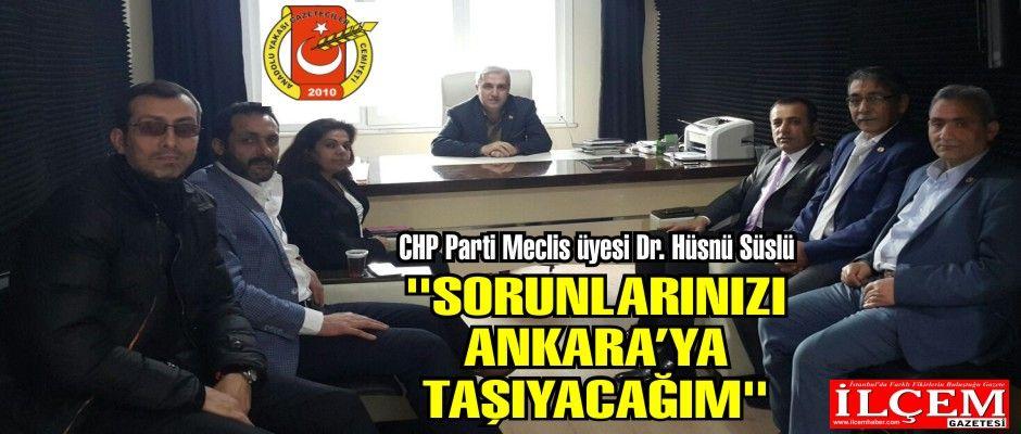 CHP Parti Meclis üyesi Dr.Hüsnü Süslü'den Aygad'a ziyaret.
