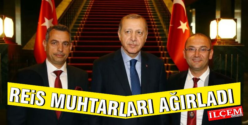 Cumhurbaşkanı Muhtar Memiş Dikilitaş ve Erol Yurdakul'u ağırladı.