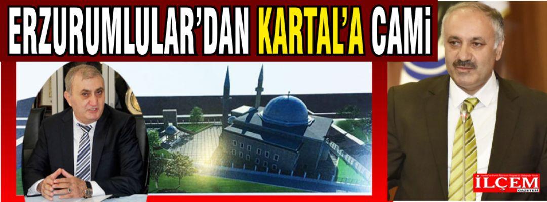 Dadaşlardan Kartal'a Erzurumlular Cami.