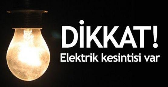 Dikkat Anadolu Yakasında Elektrik kesintisi var!