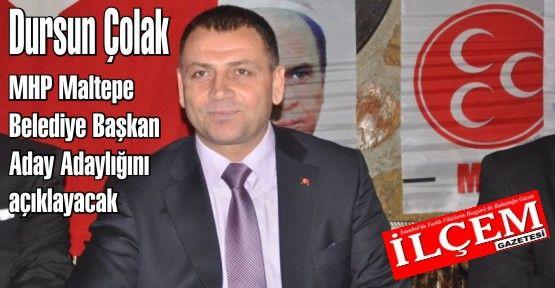 Dursun Çolak MHP Maltepe Belediye Başkan Aday Adayı