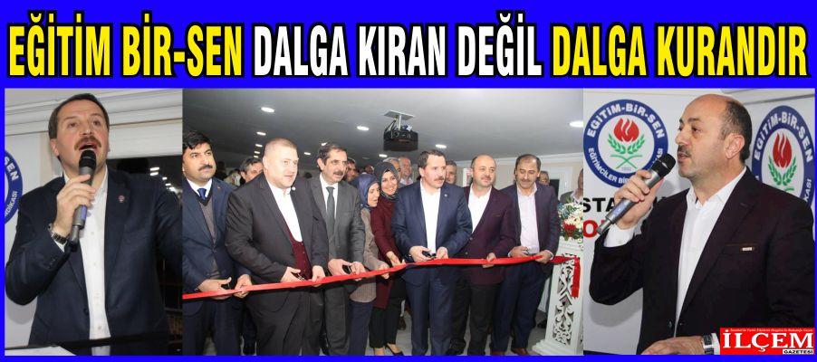 Eğitim-Bir-Sen İstanbul 4 No'lu şubesinin yeni aldığı bürosu açıldı.