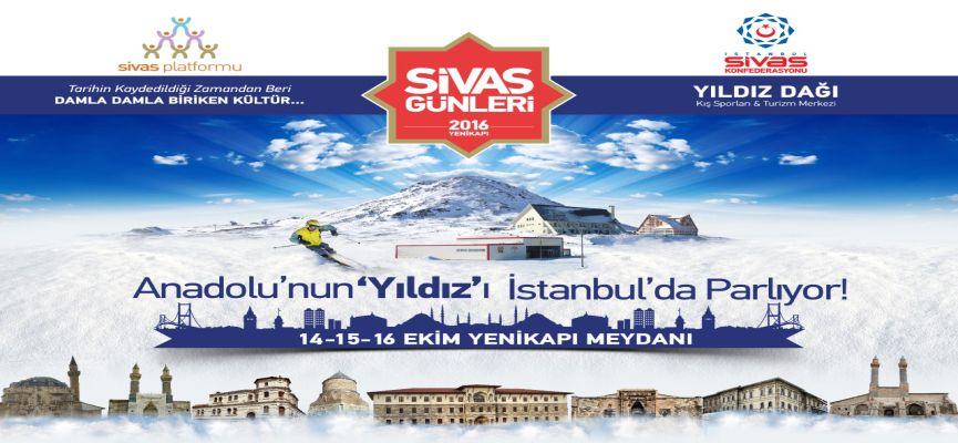 Geleneksel Sivas Günleri Yenikapı'da başlıyor