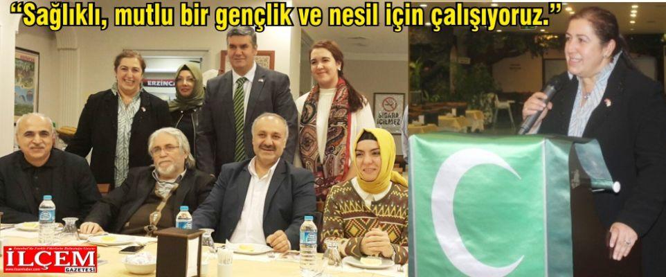 Hülya Beyazıt Göbeloğlu 'Sağlıklı, mutlu bir gençlik ve nesil için çalışıyoruz.'