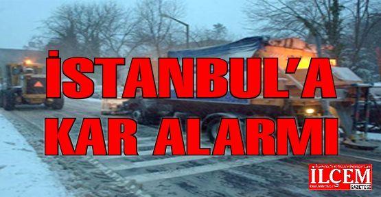 İstanbul'a kar alarmı. İbb hazırlıklarını tamamladı.