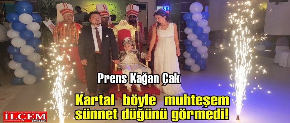Kağan Çak'a prensler gibi sünnet düğünü