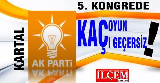 Kartal Ak Parti 5. Olağan Kongresi Kullanılan oylar ve sonuçları