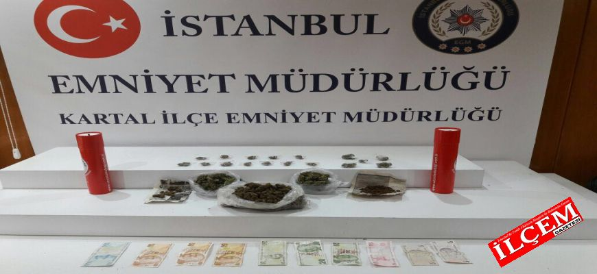 Kartal'da Uyuşturucu tacirlerine operasyon
