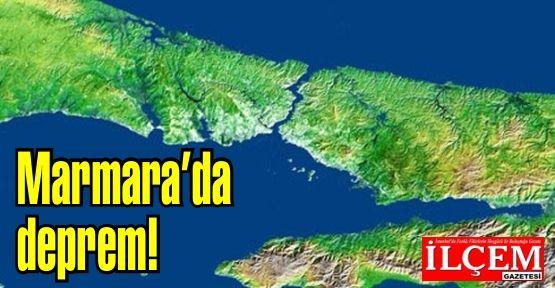 Marmarada deprem! İstanbul, Kocaeli, Bursa, Bilecik'te hissedildi.