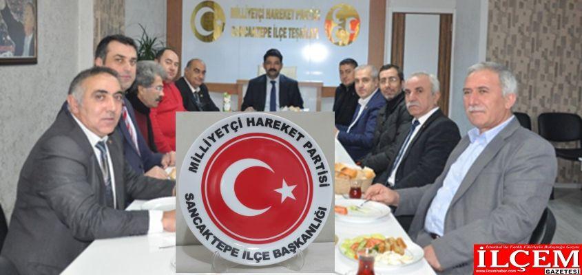 MHP Sancaktepe'den Basına vefalı ağırlama