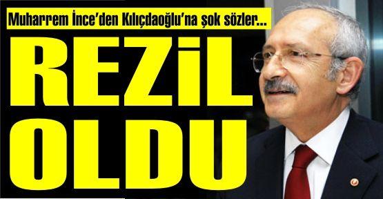 Muharrem İnce'den, Kılıçdaroğlu'na şok sözler...