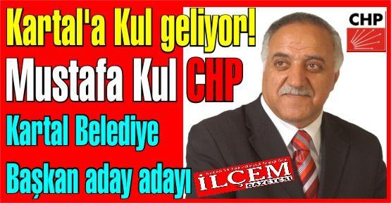Mustafa Kul CHP Kartal Belediye Başkan Aday Adayı