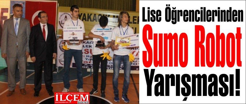 Öğrencilerden Sumo Robot Yarışması!