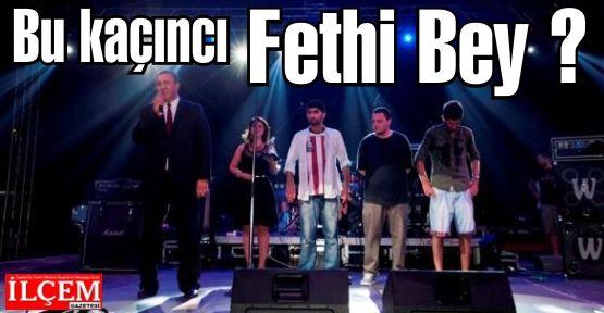 Ömer Fethi Gürer Bu kaçıncı Festival bil bakalım:)