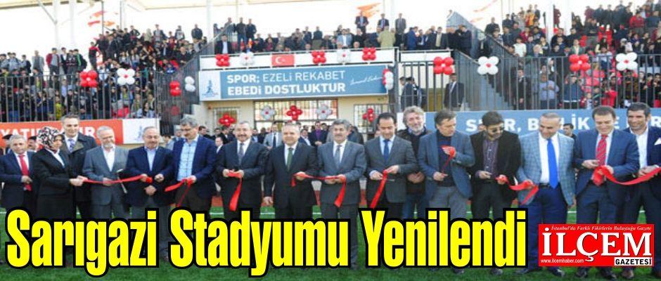 Sarıgazi Stadyumu Yenilendi