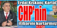 Erdal Kıskanç Kartal'da, CHP'nin itibarını kurtarmıştır.