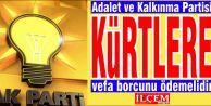 Ak Parti Kürtlere, vefa borcunu ödemelidir