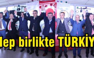 Kartal Kültür Kardeşliği Platformu'ndan mesaj, Biz Hep birlikte TÜRKİYE'yiz
