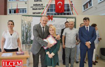 Kartal İlçe Milli Eğitim Müdürlüğü Karne Programı düzenledi.