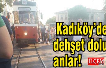 Kadıköy'de Tramvay kadının ayaklarını kesti!