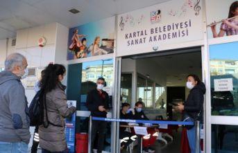 Kartal Belediyesi Sanat Akademisi Müzik Bölümü Yetenek Sınavı Yapıldı