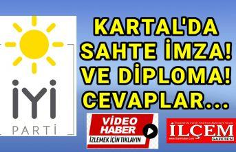İYİ Parti Kartal'dan sahte imza ve diploma iddialarına cevaplar