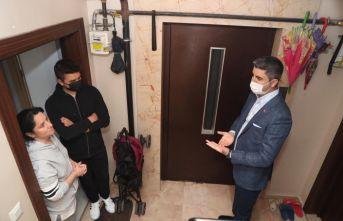 Kimer'den 6 Mahallede 35 bin haneye ziyaret