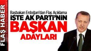 AK Parti'nin Ankara, Konya, Kayseri, Eskişehir, Kahramanmaraş Belediye başkan adayları belli oldu