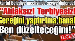 Altınok Öz meclisi gerdi, meclis üyesine hakaret etti. Meclis üyeleri meclisi terk etti!