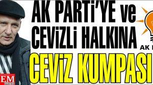 Altınok Öz'den Ak Parti'ye ve Cevizli Halkına Cevizli Kumpas!
