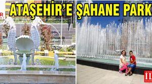 Ataşehir Belediyesi'nden, ilçenin dört bir yanına yeni parklar