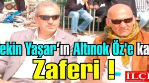 Aytekin Yaşar, yargı önünde Altınok Öz'e karşı zafer kazandı